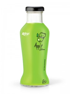 280ml glass bottle Apple Juice