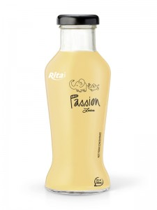 280ml glass bottle  Passion Juice