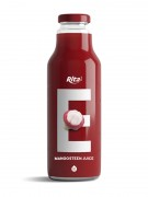 280ml glass bottle mangosteen juice
