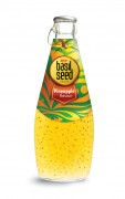 290ml basil seed drink with Pineapple