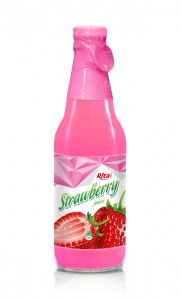300ml Strawberry juice Glass bottle