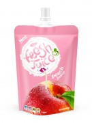 300ml  bag peach juice drink