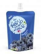 300ml bag blueberry juice