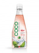 300ml pet Bottle Watermelon flavor Sparking Coconut water