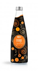 310ml Glass bottle Orange Juice