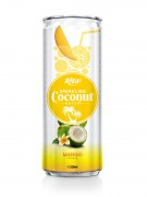 320m Alu Can Mango Flavour Sparkling Coconut Water