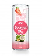 320m Alu Can Strawberry Flavour Sparkling Coconut Water
