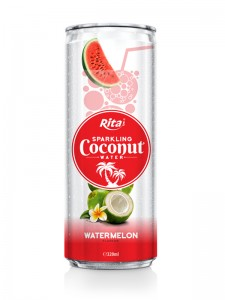 320m Alu Can Watermelon Flavour Sparkling Coconut Water