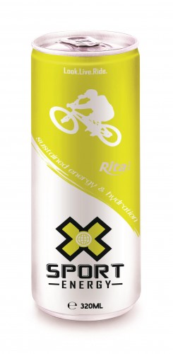 320ml Slim Can Sport Energy Drink 3