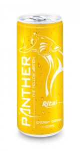 320ml  Slim Can The Yellow Edition Energy Drink