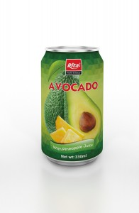 330ml Avocado with Pinapple Juice
