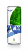 330ml Blueberry Flavor Aloe Vera Drink