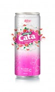 330ml Carbonated  Strawberry Flavor Drink