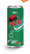 330ml Carbonated energy drink RCE low sugar