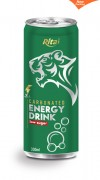 330ml Carbonated energy drink low sugar