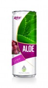 330ml Grape Flavor Aloe Vera Drink
