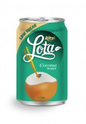 330ml Lota coconut water low sugar