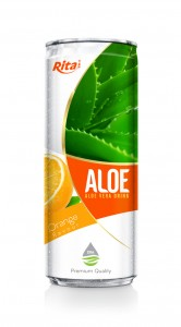 330ml Orange Flavor Aloe Vera Drink