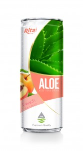 330ml Peach Flavor Aloe Vera Drink
