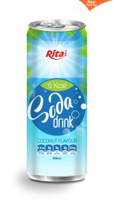 330ml Soda drink coconut  Flavour 2
