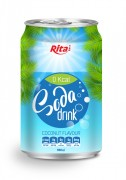 330ml Soda drink coconut Flavour 1