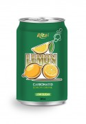 330ml carbonated lemon drink low sugar