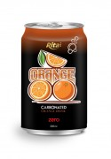 330ml carbonated orange drink