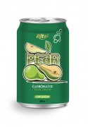 330ml carbonated pear drink low sugar
