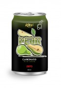 330ml carbonated pear drink