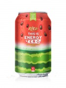 330ml Alu Can Watermelon Flavour Energy Drink