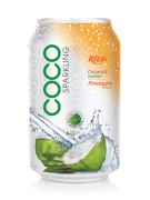 330ml Pinepple flavor with sparking coconut water