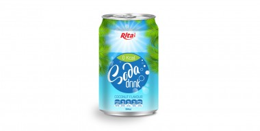 330ml Soda drink coconut Flavour