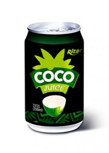 330ml canned coconut juice 1