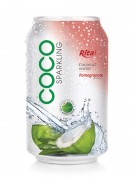330ml pomegranate flavor with sparking coconut water