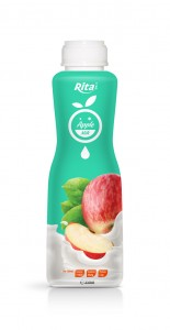 350ml PP bottle Apple Milk