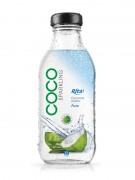 350ml Glass bottle Sparking Coconut water