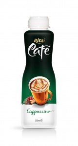 350ml PP bottle Cappuccino Coffee