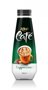 350ml Pet bottle Cappuccino Coffee