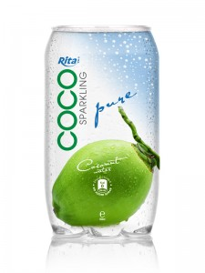 350ml Pet bottle natural coconut water  1