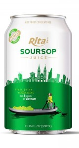 3 regions Collection - Soursop - 330ml  alu short can 1
