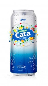 500ml Carbonated  Mix Fruit Flavor Drink