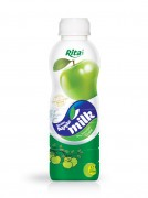 500ml Green Apple milk My favorited taste
