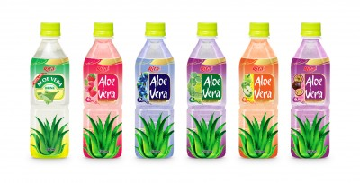 500ml Pet Bottle aloe vera juice with  fruit juice