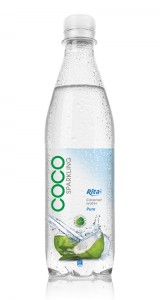 500ml Pet bottle  Sparking Coconut water