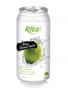500ml Slim Can Pure Coconut Water