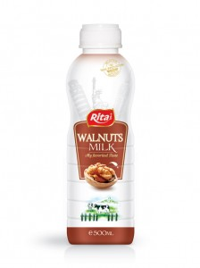 500ml Walnuts milk My favorited taste