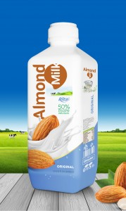 Almond milk Original 1000ml PP bottle