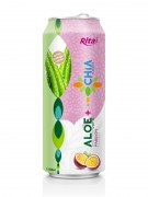 Aloe vera - Chia with passion flavor