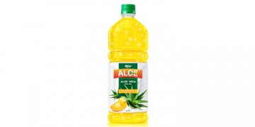 Aloe vera 1L with mango flavored drinks