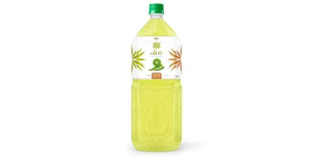 Aloe vera with kiwifruit  juice 2000ml Pet Bottle
